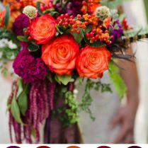 Fall Flowers For Wedding Bouquets Best 25 Fall Wedding Flowers
