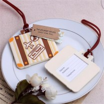 Fashion Design Airplane Luggage Tag Wedding Favors And Gifts