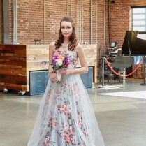 Floral Print Wedding Dresses For Spring 2016 Mywedding Floral