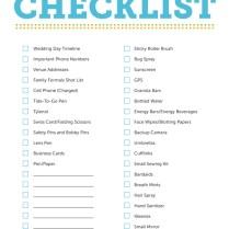 Free Printable Wedding Checklist Free Printable Wedding Checklist