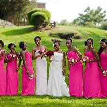 Fuschia Wedding