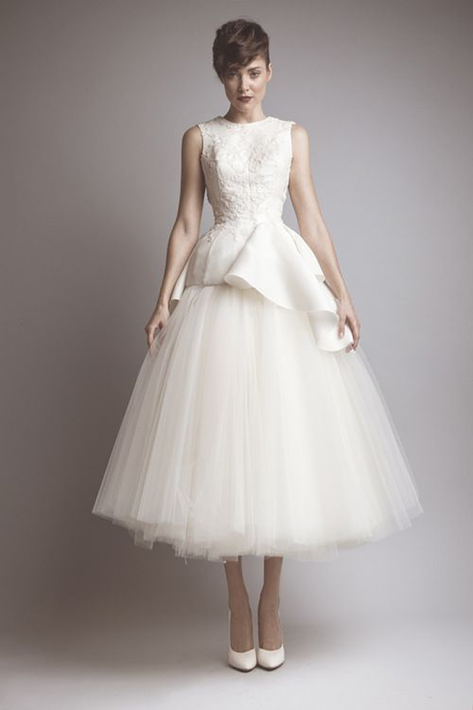 Audrey Hepburn Style Wedding Dress