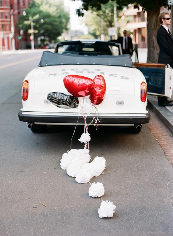 Decorating A Wedding Car Ideas Billingsblessingbags