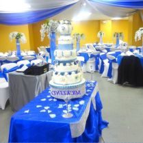 Glamorous Wedding Table Decorations Royal Blue 34 In Online With