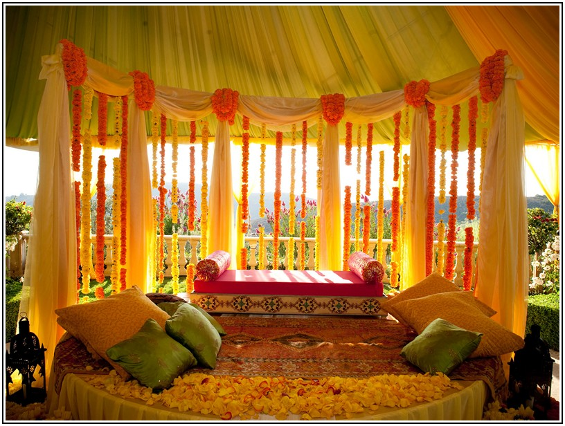 Indian wedding decor for home junglespirit Image collections