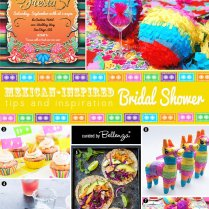 How To Plan A Mexican Themed Bridal Shower