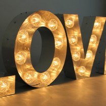 Illuminated Signs, Light Up Letters, Large Marquee Letters