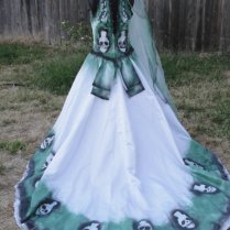Inspirational Sugar Skull Wedding Dress 38 With Additional Wedding
