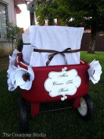 Interesting Decorating Wagon For Baby In Wedding 58 For Your