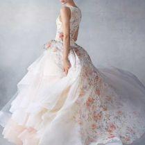 Interesting Flower Wedding Dresses 85 For The Wedding Ringer With