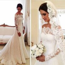 Lace Wedding Gowns 1608