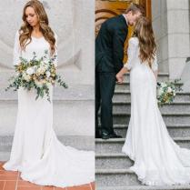 Lds Wedding Dresses Modest Wedding Dresses With Sleeves Fantastic