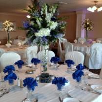 Marvellous Royal Blue Wedding Reception Centerpieces 61 With