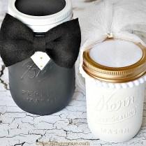 Mason Jar Crafts Wedding