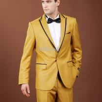Men Wedding Suits Yellow