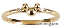Minnie Mouse Wedding Ring