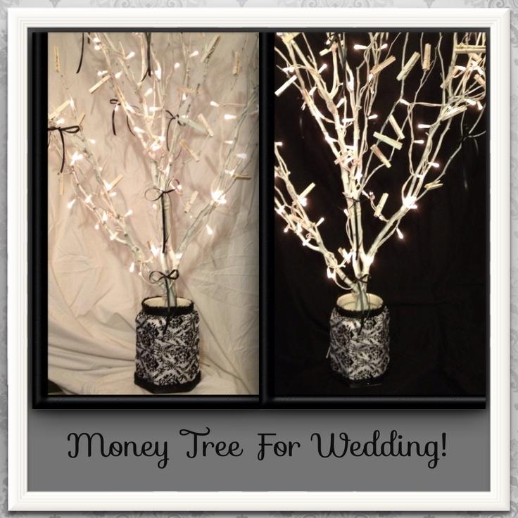 money tree wedding