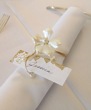 Napkins Rings For Wedding