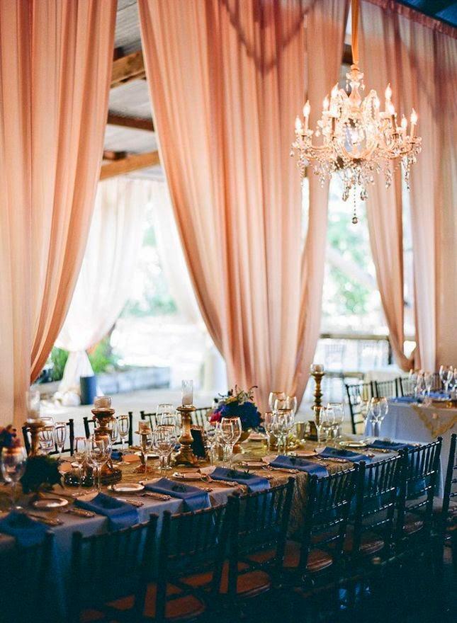 Navy Blue Wedding Decorations