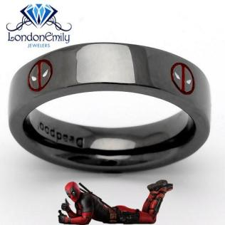 New Deadpool Wedding Ring