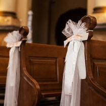 Nice Pew Decorations For Weddings 6