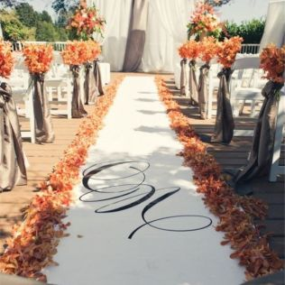 Outside Wedding Ideas For Fall Best 25 Fall Wedding Decorations