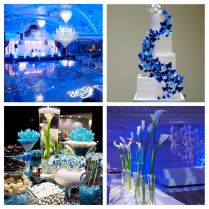 Outstanding Blue And Gray Wedding Decorations 63 For Wedding