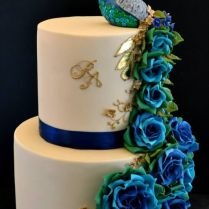 Peacock As An Inspiration For Cake Decoration