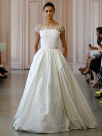 Perfect Taffeta Wedding Dress With Pockets 17 About Remodel Plus