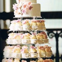 Perfect Wedding Cake Cupcakes B19 On Images Gallery M18 With
