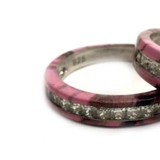 Pink Camo Wedding Rings Diy Choose Pink Camo Wedding Rings For