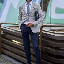 Pitti Uomo Men's Style Fashion Outfit