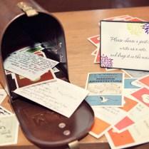 Postcard Guest Book Wedding