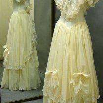 Romantic 1880's Prairie Style Wedding Gown By Ermaandagnes On Etsy