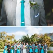 Rustic Teal And Gray Wedding Teal And Gray Wedding