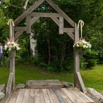 Rustic Wedding Arbors
