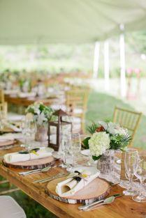 Rustic Wedding Tables
