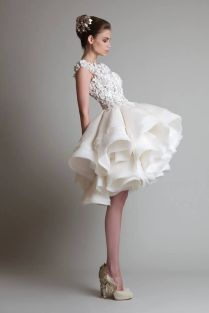 Short White Wedding Reception Dress Best 25 Short Reception