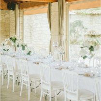 Simple And Elegant Le Mas De La Rose Wedding