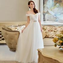 Simple But Elegant Wedding Dress