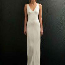 Simple White Wedding Dress Best 25 Minimalist Wedding Dresses