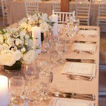 Simply Elegant Wedding Decor