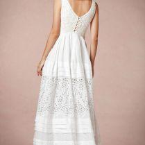 Stunning Cotton Wedding Dress Ideas