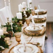 Stunning Wedding Table Setting Ideas 30 Spectacular Winter Wedding