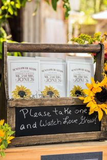 Sunflower Wedding Favor Ideas Best 25 Rustic Sunflower Weddings