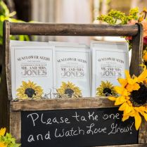 Sunflower Wedding Favor Ideas Best 25 Rustic Sunflower Weddings
