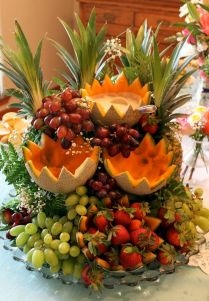 Surprising Fruit Decorations For Weddings 27 For Your Rent Tables