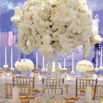 Terrific White And Gold Wedding Table Decorations 85 With
