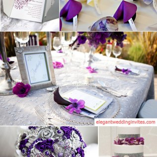 Top 5 Color Combination Ideas For Purple Weddings Purple And