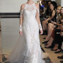 Trendspotting Cold Shoulder Bridal Gowns You'll Want To See!